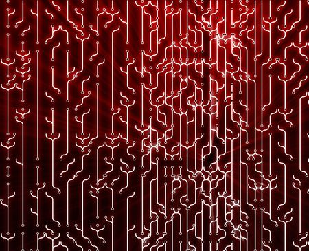 streaks of light: Abstract wallpaper illustration of electronic circuitry patterns