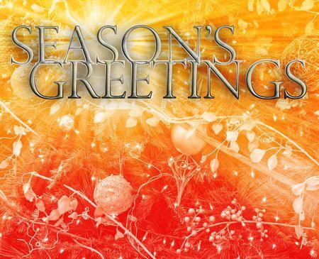 festive occasions: Ilustraci�n de fondo de Merry christmas temporadas saludos feliz a�o nuevo concepto