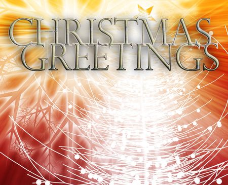 ocassion: Merry christmas seasons greetings happy new year concept background illustration