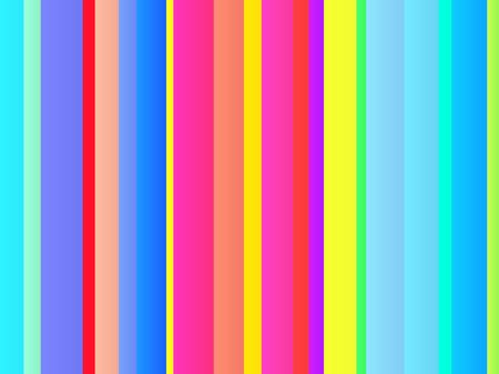 chromatic colour: Colored bands of vertical striped lines illustration Stock Photo