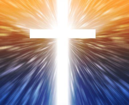 Christian church cross, religious spiritual symbol illustration illustration