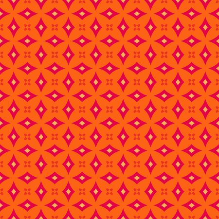 printed: Colorful retro patterns geometric design vintage wallpaper seamless background Stock Photo