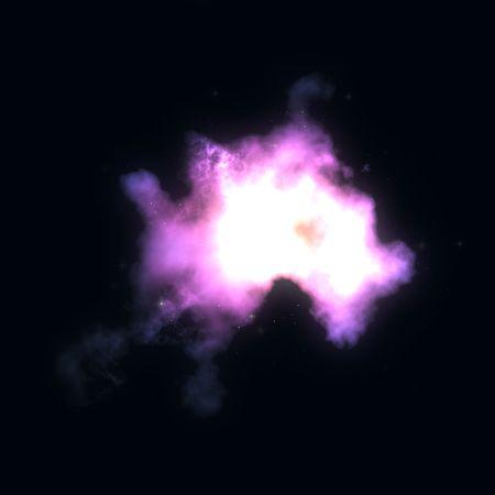 outerspace: Espacio nebulosa starfield ilustraci�n de cielo estrellado de outerspace