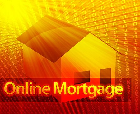 Online housing real estate internet websate ecommerce Stock Photo - 6165779