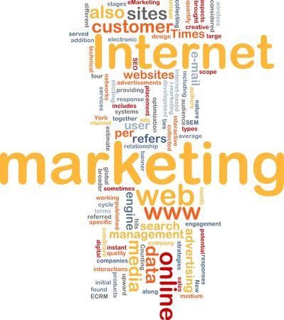 interactions: Word cloud concept afbeelding van internetmarketing