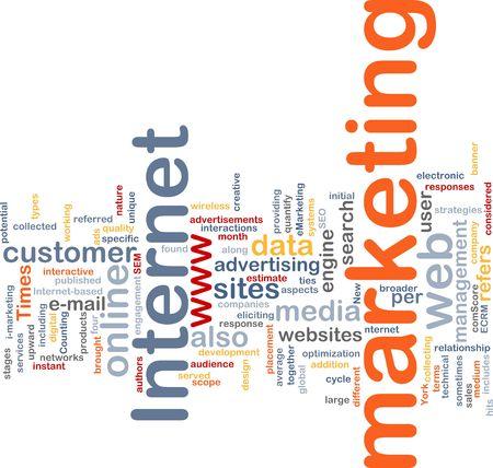 interakcje: Program Word chmura koncepcji ilustracji obrotu, internet