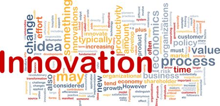 value: Background concept illustration of business innovation change Stock Photo
