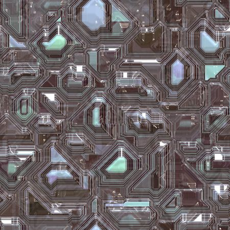 circuitboard: Abstract high tech circuitry technology background wallpaper illustration