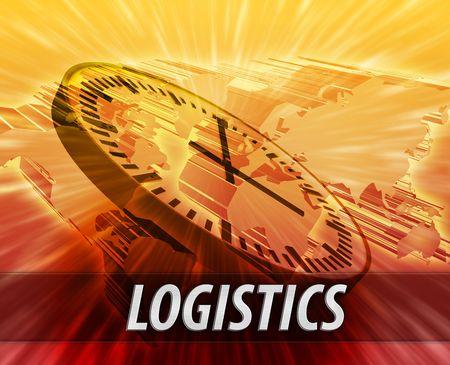 World international business time logistics management concept background photo