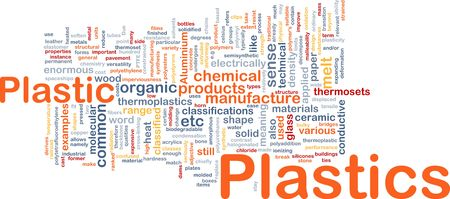 plasticity: Plastics material background concept Stock Photo