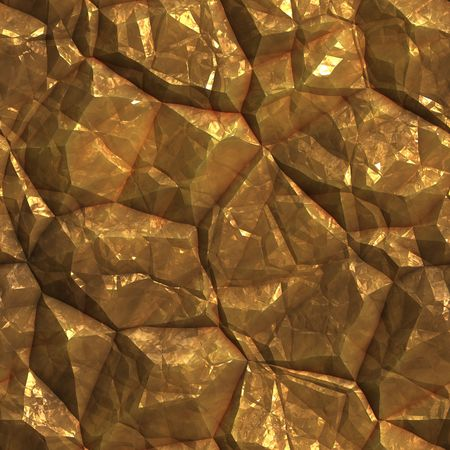 mining gold: Gold golden metal ore deposits seamless background texture Stock Photo