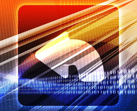 Return navigation icon glossy button concept background illustration illustration