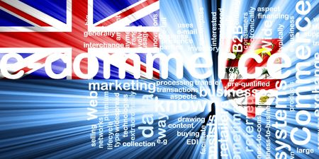 fiji: Flag of Fiji, national country symbol illustration internet e-commerce Stock Photo