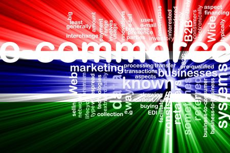 gambia: Flag of Gambia, national country symbol illustration internet e-commerce Stock Photo
