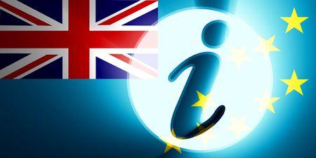 tuvalu: Flag of Tuvalu, national country symbol illustration information help