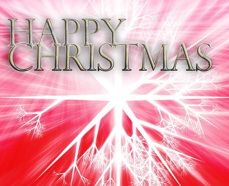 merry mood: Merry christmas seasons greetings happy new year concept background illustration