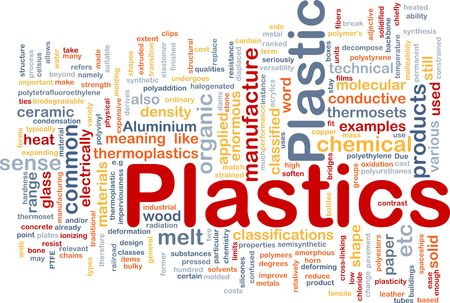 silicone: Plastics material background concept Stock Photo