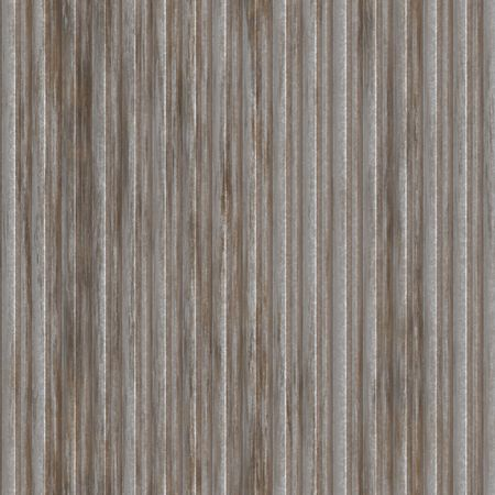 Corrugated metal ridged surface with corrosion seamless texture Stock Photo - 6294111