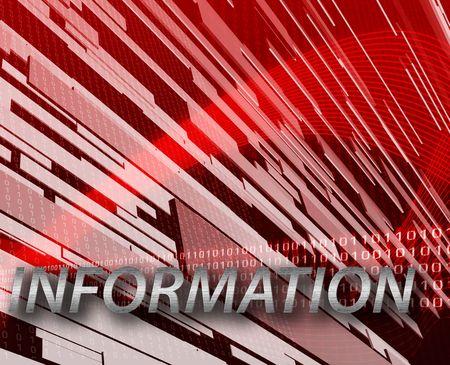 Internet digital information network communication concept background illustration illustration