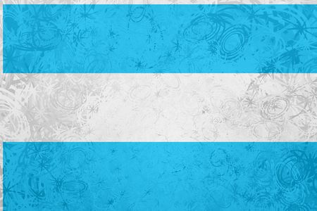 argentinean: Flag of Argentina, national symbol illustration clipart rough grunge texture