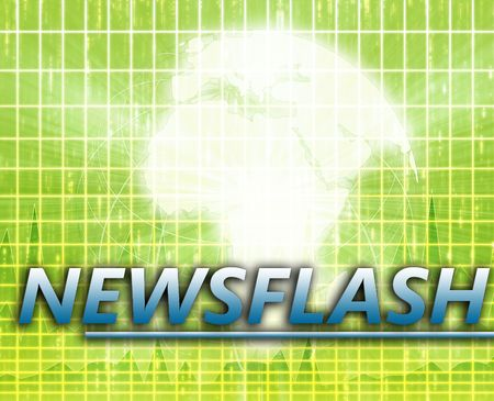 Africa Latest update news newsflash splash screen announcement illustration illustration