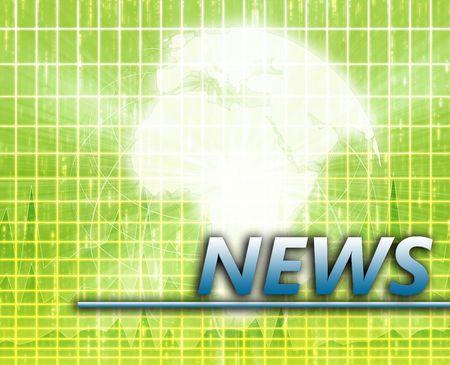 splashscreen: Africa Latest update news newsflash splash screen announcement illustration