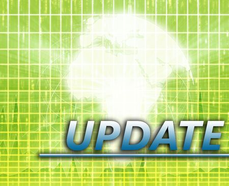 Africa Latest update news newsflash splash screen announcement illustration Stock Illustration - 6314593