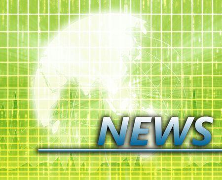 splashscreen: Asia Latest update news newsflash splash screen announcement illustration