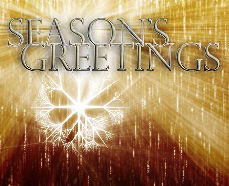 seasons greetings: Merry christmas seasons greetings happy new year concept background illustration