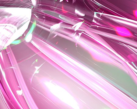 shiney: Abstract smooth glowing translucent flowing pattern wallpaper illustration