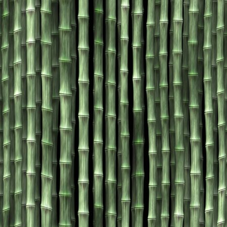 Bamboo plant stems vegetation seamless background wallpaper photo
