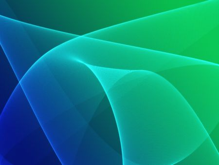 Abstract wallpaper illustration of wavy flowing energy and colors Stock Illustration - 6404096