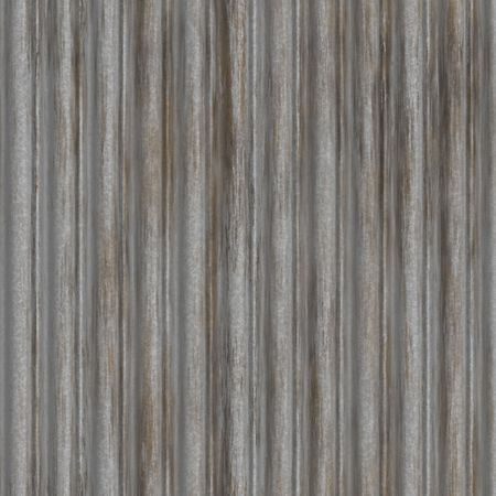 Corrugated metal ridged surface with corrosion seamless texture Stock Photo - 6474070