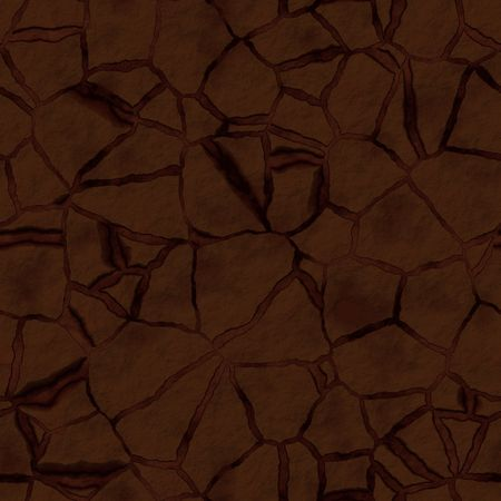 dehydrated: Cracked dry earth ground drought surface seamless texture Stock Photo
