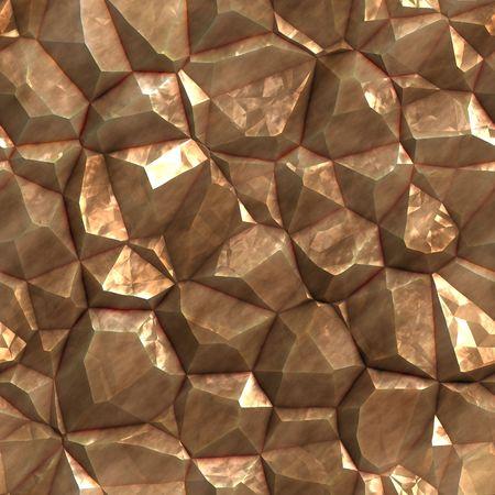 deposits: Gold golden metal ore deposits seamless background texture Stock Photo