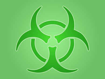 Biohazard sign, warning alert for hazardous bio materials Stock Photo - 6476647