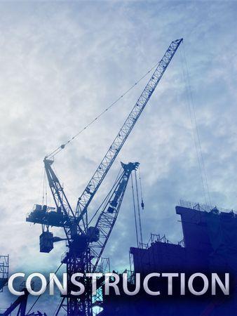 Digital collage illustration of construction industry equipment Stock Illustration - 6476794
