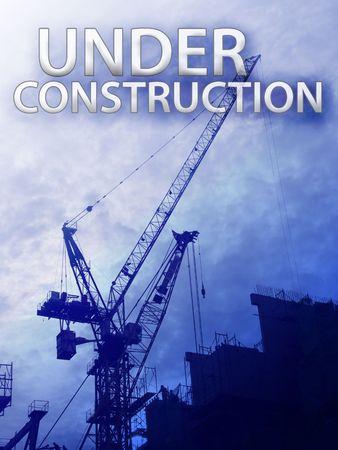 Digital collage illustration of construction industry equipment Stock Illustration - 6476814