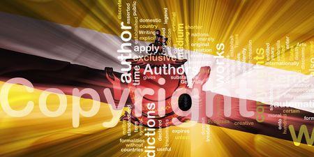 authorship: Flag of Brunei, national symbol illustration clipart wavy fabric national copyright law