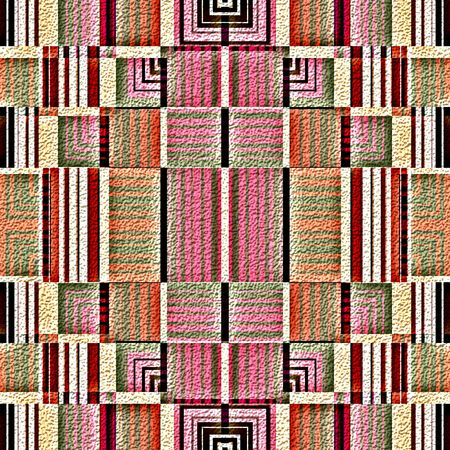 native american indian: Native american traditional decorative tribal pattern design background Stock Photo