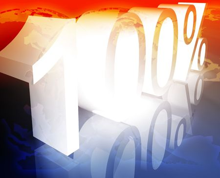 price reduction: Hundred 100 percent discount sale price reduction promotion background
