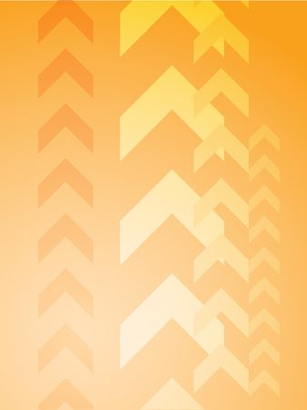 Abstract graphic design of upwards pointing arrows photo