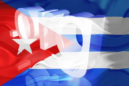 Flag of Cuba, national symbol illustration clipart wavy org organization website illustration