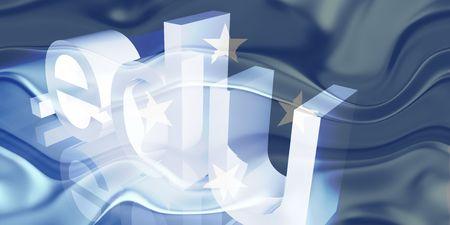 edu: Flag of Micronesia, national country symbol illustration wavy edu education website