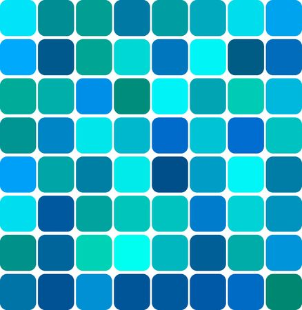 Abstract background illustration of colored tile mosaic illustration