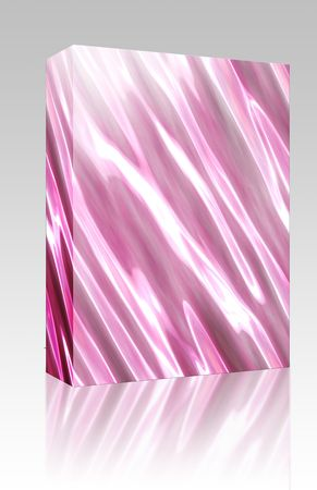 shiney: Software package box Abstract smooth glowing wavy flowing pattern wallpaper illustration