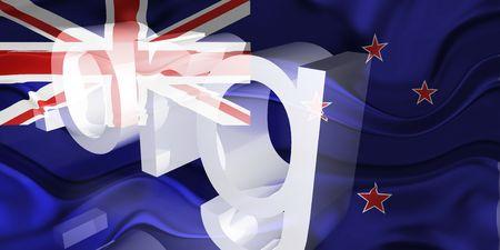 tokelau: Flag of Tokelau, national country symbol illustration wavy org organization website