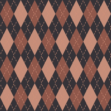 Argyle knit pattern seamless tiling background texture Stock Photo - 8634861