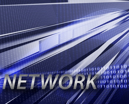 Internet information network background Stock Photo - 8635426