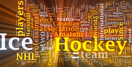 Software package box Word cloud concept illustration of ice hockey Stock Illustration - 8635507